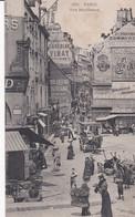 (Marché Très Animé) PARIS Rue Mouffetard (Pubs Gd Lavoir, Choc. Vinay, Moutarde Bornibus, Boulang. Cosse, Bière Du Lion - Markets