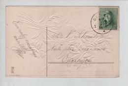 REF3190/ TP 167 Alber Casqué S/CP Fantaisie C.Gent 31/12/1919 - Cartas