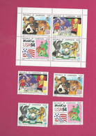 Cameroun YT N° 871** à 874 Et BF 32 - 1994 – Stati Uniti