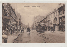 WARSZAWA  --   1927 , Tramwaj , Eisenbahn , Tram , Tramway - Pologne