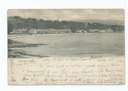 Scotland Isle Of Arran  Postcard Lamlash And Bay Brodick Cancel 1902 - Sonstige