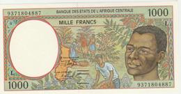 BILLET NEUF 1000 FRANCS BANQUE CENTRALE DES ETATS DE L'AFRIQUE CENTRALE 1993 GABON - Central African States