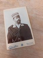 STUTTGART - JULIUS STOESS - BURSCHENSCHAFT - STUDENTENVERBINDUNG - AELTERER HERR MIT HUT - ZEICHEN - 1898 - Plaatsen