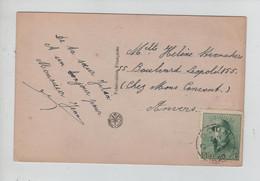 REF3191/ TP 167 Albert Casqué S/CP Fantaisie C. Boom 15/4/1920 > Anvers - Cartas