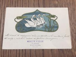Art Nouveau - BRW (non Numerata) - Secession Style - Swan - Ante 1900
