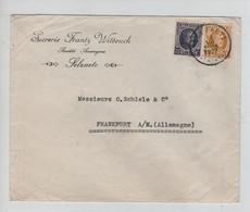 REF3192/TP 204-205 Houyoux S/L Publicitaire Sucrerie Frantz Wittouck Selzaete C. Selsaete (Zelzate) 13/7/17 > Allemagne - Cartas