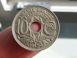 Belle 10 Centimes Lindauer 1939 - D. 10 Centimes