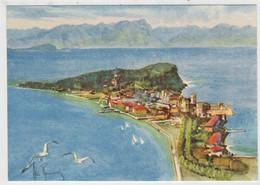 SIRMIONE   (LAGO  DI  GARDA)     VISIONE  GENERALE      (ALDO  RAIMONDI)    (NUOVA) - Paintings