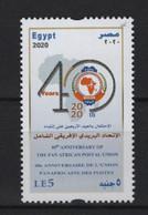 Egypt (2020) - Set -  / Postal Union - Post