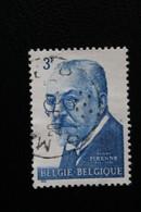 1963,BELGIQUE Y&T NO 1240 3f BLEU HENRI PIRENNE.. - Oblitérés