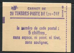 FRANCE - CARNET N° 2101 -C 1  - CONF. 8 -  * *  - COMPLET FERME & LUXE - Definitives