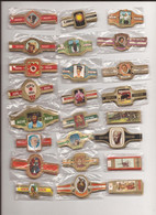 24 Complet Sets Cigar Bands / Serie Complet De Bagues De Cigares/ 24 Serien Bauchbinden A - Cigar Bands