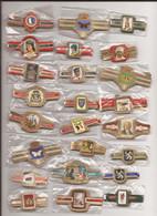 24 Complet Sets Cigar Bands / Serie Complet De Bagues De Cigares/ 24 Serien Bauchbinden C - Anelli Da Sigari