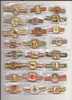 24 Complet Sets Cigar Bands / Serie Complet De Bagues De Cigares/ 24 Serien Bauchbinden D - Anelli Da Sigari