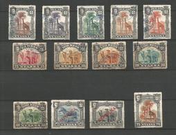 NYASSA   1901......1911   LOT  DE   13 TIMBRE  OBL - Nyassaland