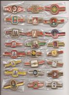 24 Complet Sets Cigar Bands / Serie Complet De Bagues De Cigares/ 24 Serien Bauchbinden E - Cigar Bands