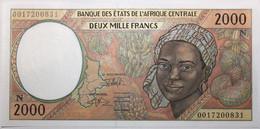 Guinée équatoriale - 2000 Francs - 2000 - PICK 503Ng - NEUF - Equatorial Guinea