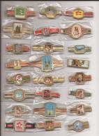 24 Complet Sets Cigar Bands / Serie Complet De Bagues De Cigares/ 24 Serien Bauchbinden G - Cigar Bands