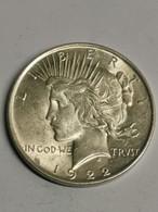 EUA, 1 Dollar 1922. Peace Dollar - 1921-1935: Peace