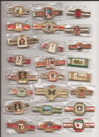 24 Complet Sets Cigar Bands / Serie Complet De Bagues De Cigares/ 24 Serien Bauchbinden I - Cigar Bands