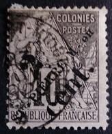 Saint Pierre Et Miquelon 1891 Surchargé Overprinted ST-PIERRE M-on 2 Cent. Yvert 38 O Used - Gebraucht