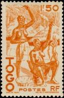 TOGO - Femmes Togolaises, Fileuses De Coton - Togo (1960-...)