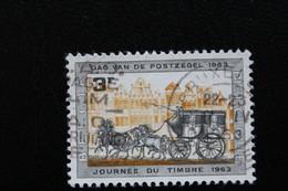 1963,BELGIQUE Y&T NO 1249  3F GRIS ET OCRE JOURNEE DU TIMBRE ... - Oblitérés