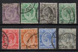 KENIA ET OUGANDA 1922-7 O - Kenya & Uganda