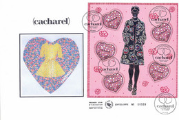 Enveloppe 1er Jour, Coeurs Cacharel 2005, (BF 80) - 2000-2009