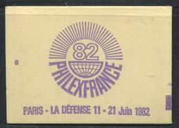 FRANCE - CARNET N° 2101 -C 3  - CONF. 8 -  * *  - COMPLET FERME & LUXE - Definitives