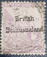 British Bechuanaland 1886-89 Stamp Used - 1885-1895 Kronenkolonie
