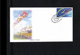 2001 - Europe Sympathy FDC Armenia Mi.433 [WJ033] - 2001