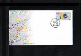 2001 - Europe Sympathy FDC Armenia Mi.448 [WJ034] - 2001