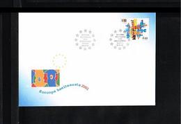 2001 - Europe Sympathy FDC Estonia Mi.396 - Cancel Tallinn [WJ038] - 2001