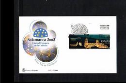 2001 - Europe Sympathy FDC Spain Mi.3649 - Issue SFC 27/2001 - Cancel Madrid [WJ049] - 2001