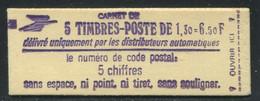 FRANCE - CARNET N° 2059 -C 1a  -  * *  - COMPLET FERME & LUXE - Definitives