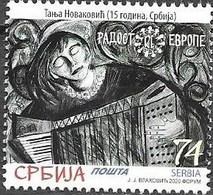 SERBIA, 2020, MNH, JOY OF EUROPE, MUSIC,1v - Sonstige