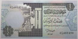 Libye - 0,5 Dinar - 1991 - PICK 58b - NEUF - Libië