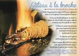 Recette Gastronomie Du Pays Basque - Gâteau à La Broche - 9892 Editions JACK - TBE - Recettes (cuisine)