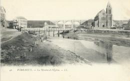 Wimereux - La Rivière Et L'Eglise - Andere Gemeenten