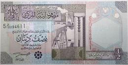 Libye - 0,5 Dinar - 2002 - PICK 63 - NEUF - Libië