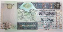 Libye - 20 Dinars - 2002 - PICK 67a - NEUF - Libië