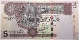 Libye - 5 Dinars - 2004 - PICK 69a - NEUF - Libië