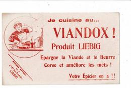 Buvard VIANDOX LIEBIG épargne La Viande Et Le Beurre Femme Au Fourneau - Soups & Sauces