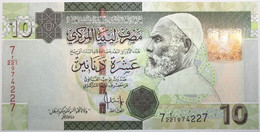 Libye - 10 Dinars - 2009 - PICK 73 - NEUF - Libië
