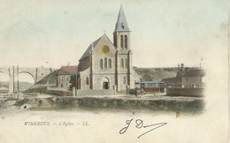 Wimereux - L'Eglise ( Carte Colorisée ) - Andere Gemeenten