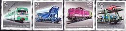 DDR GDR RDA - Schienenfahrzeuge (MiNr: 2414/7) 1979 - Postfrisch MNH - Unused Stamps