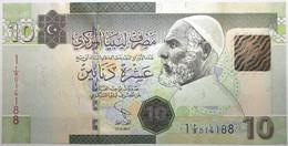 Libye - 10 Dinars - 2011 - PICK 78Aa - NEUF - Libië