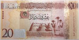 Libye - 20 Dinars - 2013 - PICK 79a - NEUF - Libië