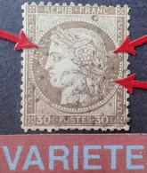 """2857 - CERES N°56 - ETOILE N°22 De PARIS - VARIETE ➤➤➤ """" Nuages Blancs Dans Le Médaillon """" - 1871-1875 Ceres"""